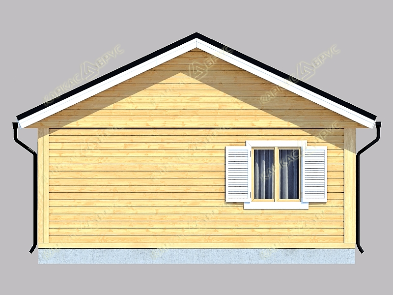 Дом под усадку из бруса в туле